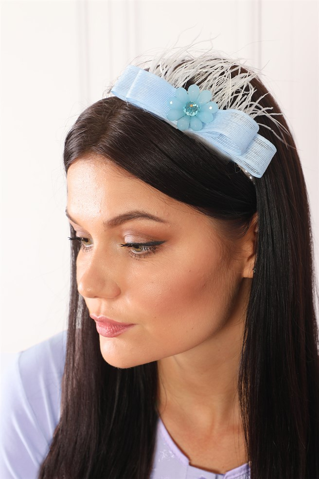 Abelia Baby Blue Maternity Crown