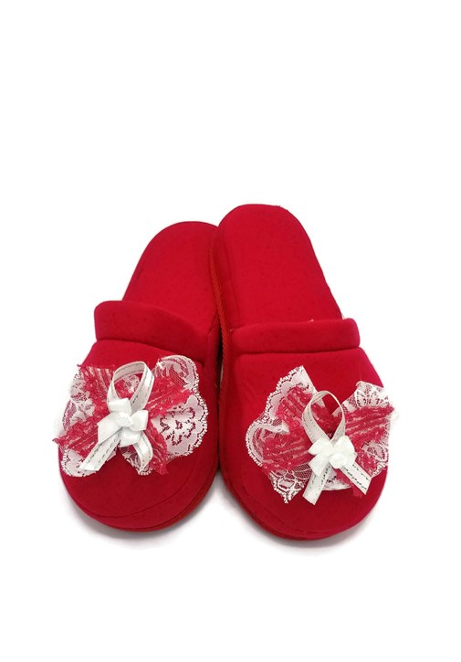 Lh 301 Red  Color Maternity Slipper