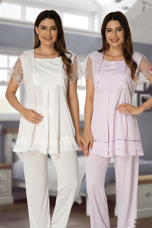 Effortt 2051 Maternity Pajama Set