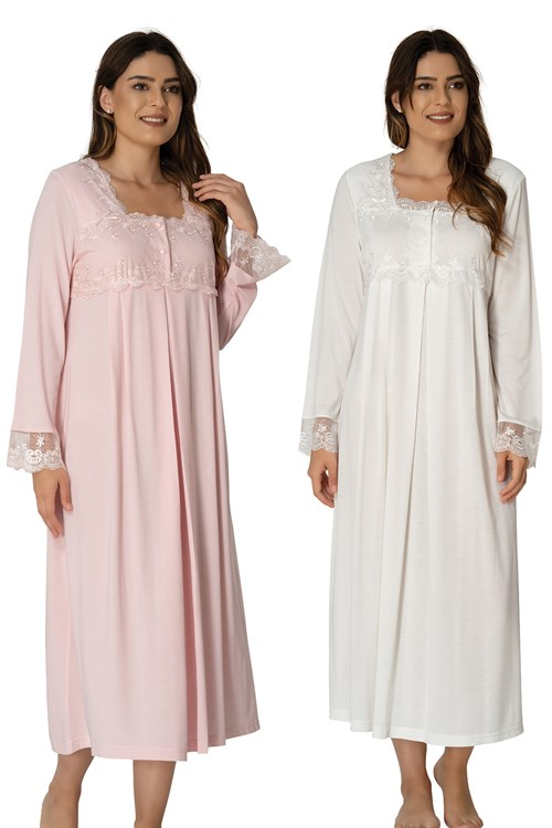 Effortt 2404 Maternity Nightgown Set