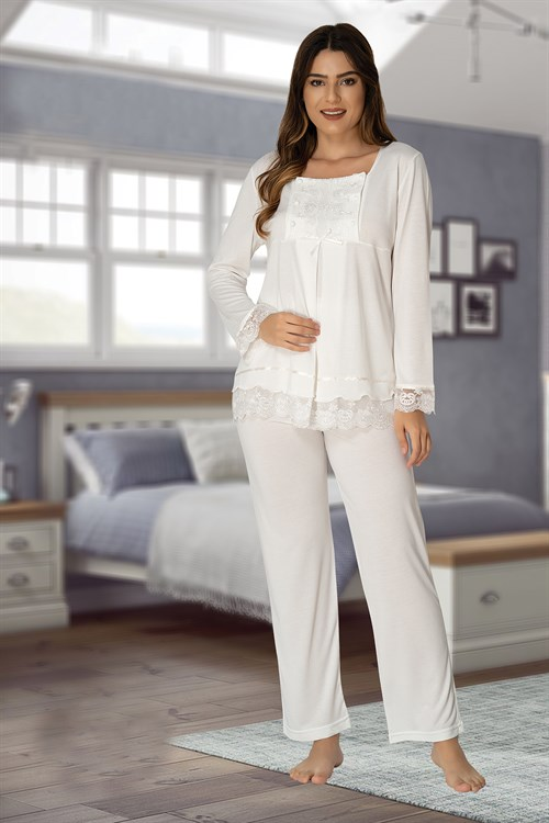 Effortt 3045 Maternity Nursing Pajamas