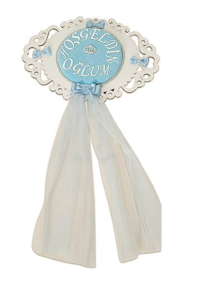 Lh 260 Blue Baby  Room Door Decoration
