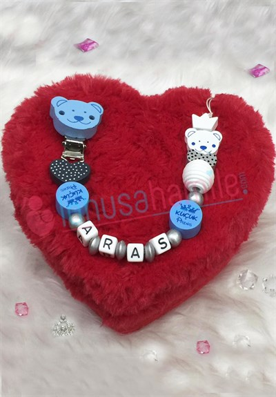Lh 539 Personalized Pacifier Chain with Name