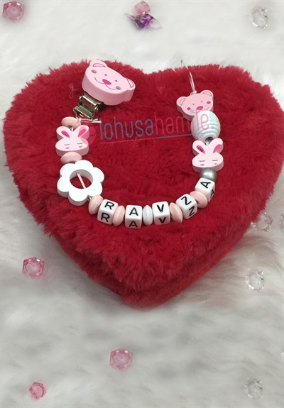 Lh 544 Baby  Personalized Pacifier Chain with Name