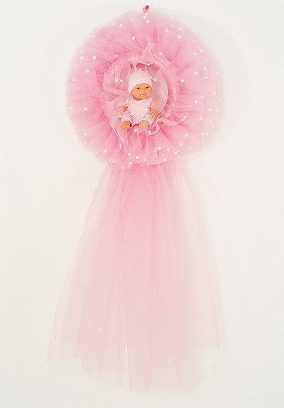 Lh 560  Pink Baby  Room Door Decoration