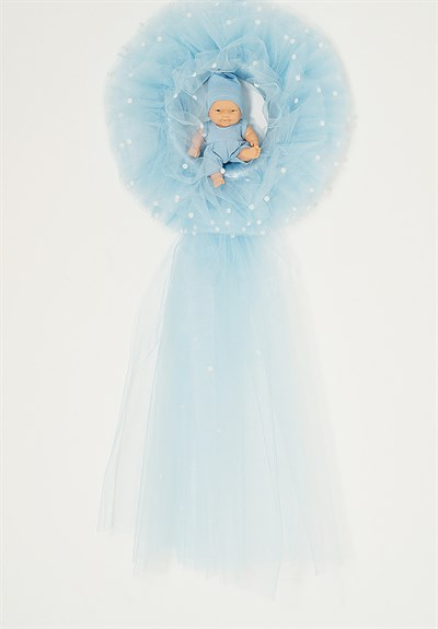 Lh 561  Blue Baby  Room Door Decoration